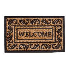 """Border Welcome Doormat 18""""x30"""""""