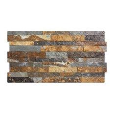 Dark Rustic Split Face Effect Tiles, 1 m2