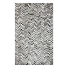 Bashian Langdon Area Rug, Gray, 4'x6'