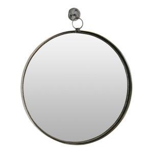 Bescott Suspended Round Wall Mirror