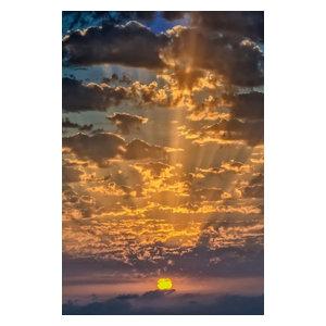 """Pixtury """"Sotto le nuvole"""" Photograph, Art Poster, 70x100 cm"""
