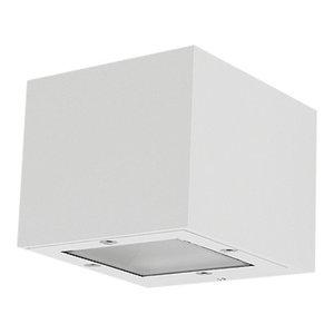 Isora Outdoor Wall Light, White, LED