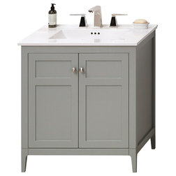 Spectacular Transitional Bathroom Vanities And Sink Consoles by Ronbow Corp