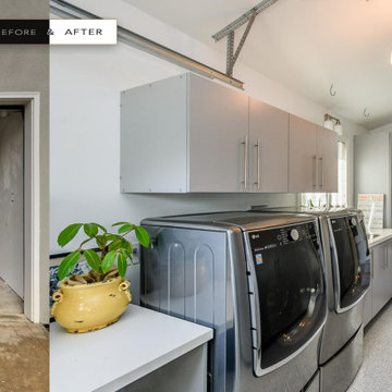 Laundry Room Before & After • Atelier Noël