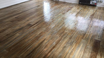 Concrete Wood Floors