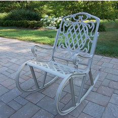 Oakland Living Mississippi Patio Rocking Chair  Outdoor Rocking Chair  Outdoor Rocking Chair Iron Metal PatioOakland Living Mississippi Patio Rocking Chair   Amazing Bedroom  . Oakland Living Mississippi Patio Rocking Chair. Home Design Ideas