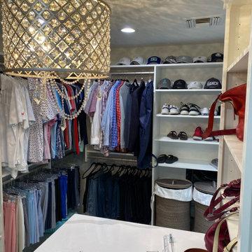 Glamorous Master Suite, Closet & Laundry Room Remodel