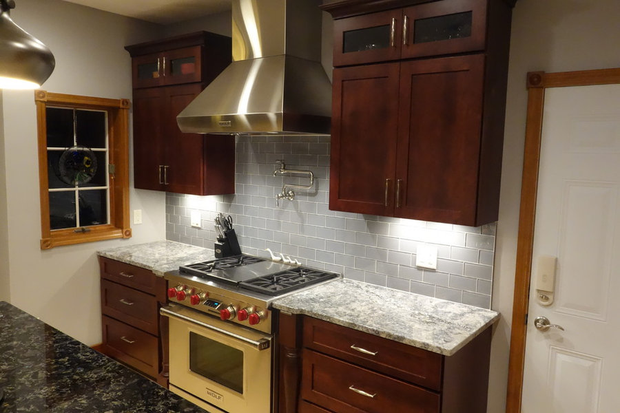 Kitchen Remodel-Cherry Cabinets
