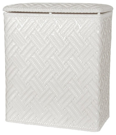 Guest picks solve your bathroom storage woes - White wicker clothes hamper ...