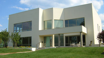 Switchable Privacy Glass Entry Way - Exterior View