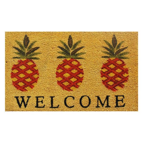 Pineapple Welcome Doormat
