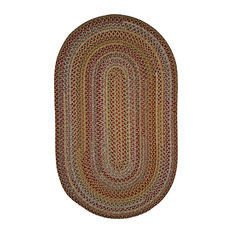 """Edgartown Lobster Red Stair Tread, 9""""x30"""" Oval Stairtread"""