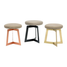 Y1 Stool, Cashmere, Copper