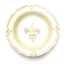 Fleur De Lis Soup Bowl