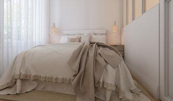 Vues 3d,  rénovation appartement architecte d'intérieur Karine Perez