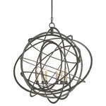 Currey And Company 9488 Genesis 6 Light Globe Chandelier
