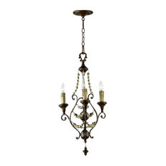 "Cyan Design 03010 Lighting 30.5"" Meriel 3 Light Chandelier"