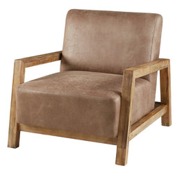 Rustic Armchairs And Accent Chairs by Olliix