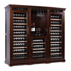 mQuvée Wine Cabinets - American Oak 392 Brown