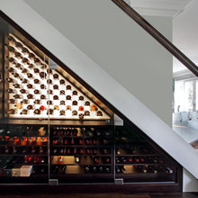 Clever Under Stair Wine Storage Solutions incorporating climate control