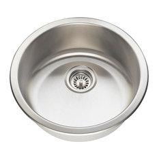 Polaris P564 Circular Stainless Steel Bar Sink