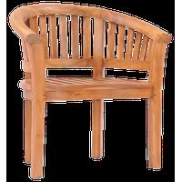 Teak Wood Peanut Indoor/Outdoor Chair made from Solid A-Grade Teak Wood