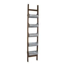 "Reed Ladder Planter, 14x8x71"""