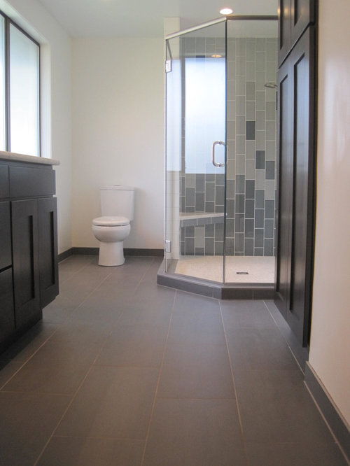 Contemporary Bathroom Remodel Tile