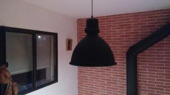 Installation et décoration luminaires