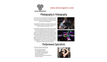 Electrogenic Specialists
