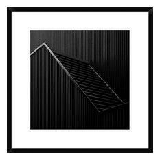"""Black Light"" Framed Digital Print by Gilbert Claes, 24x24"""
