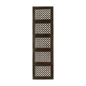 New Traditional Wood Wall Panel, Brown
