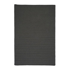 Colonial Mills, Inc - Colonial Mills Simply Home Solid H661 Gray Rug, 10x13 - Outdoor Rugs