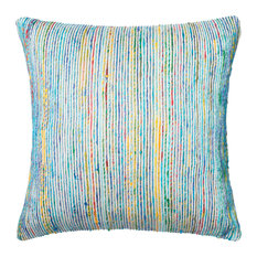 "Loloi Inc. Pillow, Blue and Multi, 22""x22"""