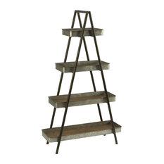 Four Shelf Ladder Display