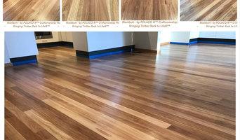 Complete restoration of Black Butt Timber Flooring - Water Based Coatings