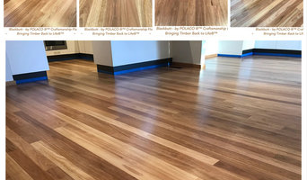 Complete restoration of Black Butt Timber Flooring - Water Based Coatings