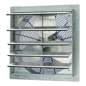 7 iLiving ILG8SF7V Wall-Mounted Variable Speed Shutter Exhaust Fan Crawl Space Ventilator
