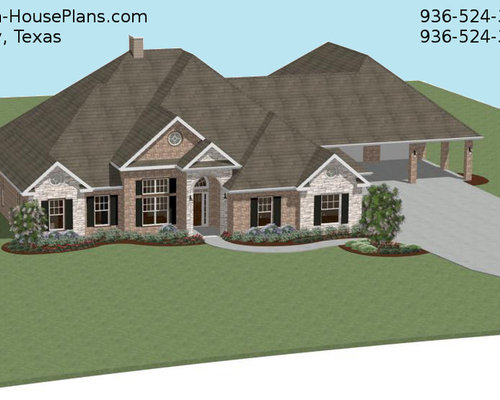 Houston house designer custom home plans chief architect for Custom home plans houston