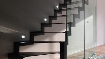 Décoration de votre escalier en verre