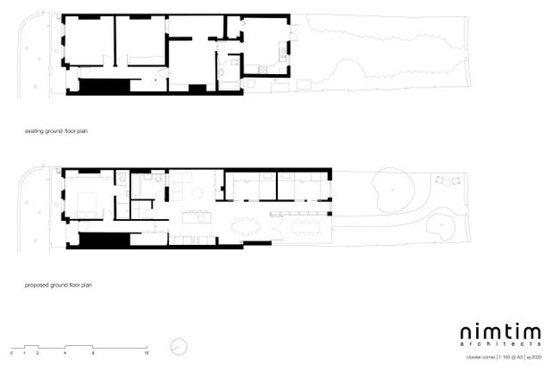 Contemporary Floor Plan by nimtim Architects