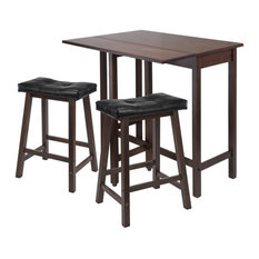 best transitional pub and bistro tables  houzz, Kitchen design