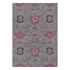 "Momeni Jewel JW-01 Area Rug, Gray, 7'10""x9'10"""