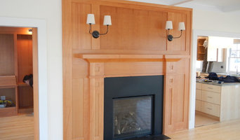 Custom Fir Mantle