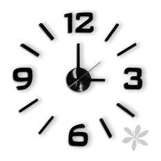 "- Reloj de pared adhesivo ""FUN CLOCK"" - Relojes de pared"
