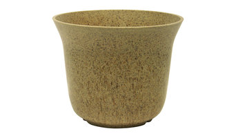Eco Flower Pot, Set of 6, Earthy Brown