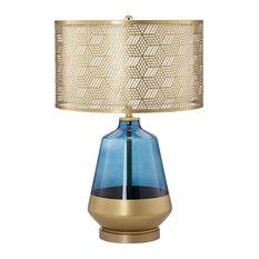 "Pacific Coast Taurus 26"" Table Lamp 9Y880 - Cobalt Blue"