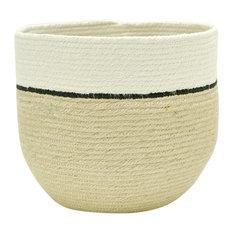 Duet Black Decorative Basket, Large