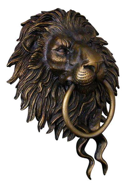 Lion Head Door Knocker - Traditional - Door Knockers - by Karl Deen ...