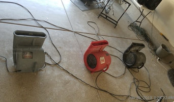 Ongoing water damage work